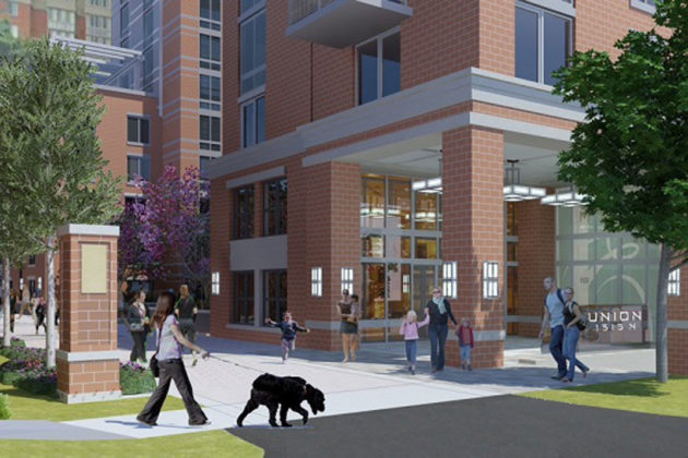 Rendering of the Union on Queen apartments (image courtesy The Bozzuto Group)