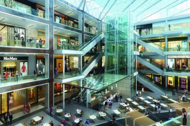 Rendering of changes to the Fashion Centre at Pentagon City