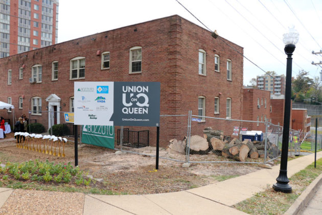 The site of the future Union on Queen apartments