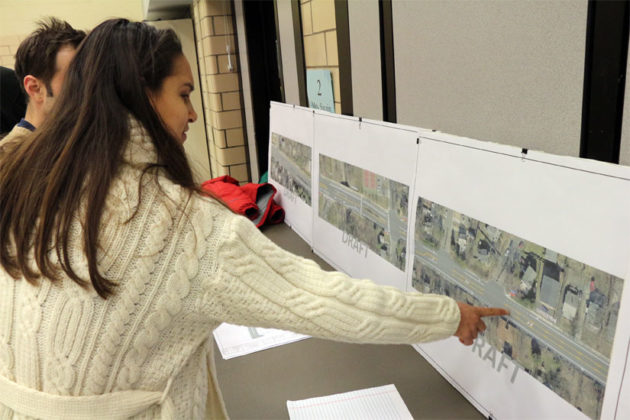 Residents look at Wilson Blvd's future configuration