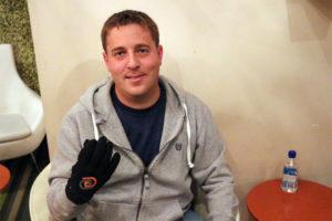 GoGlove cofounder Michael Conti