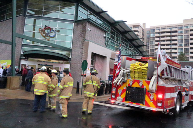 ACFD responds to a chemical leak at Harris Teeter near Ballston