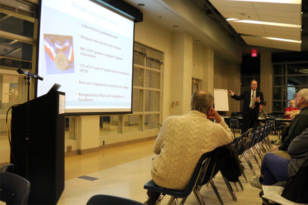 APS Superintendent Patrick Murphy gives his budget presentation