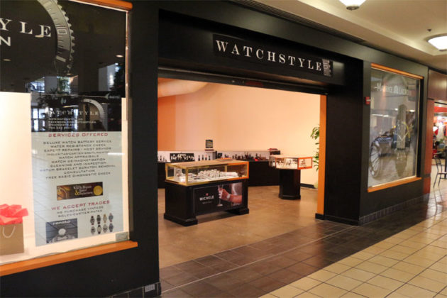 Watchstyle, the new Swiss watch store, in Ballston Common Mall