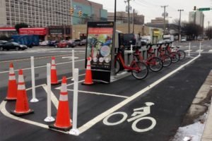 Capital Bikeshare station at S. Eads Street and 23rd Street S. (Flickr photo by Euan Fisk)
