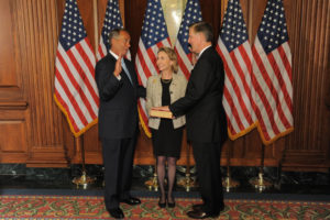 Rep. Don Beyer sworn into Congress (photo courtesy the office of Don Beyer)