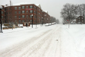 Winter storm hits Arlington Jan. 6, 2015