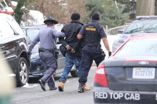 State Troopers Swarm Arna Valley As Police Chase Ends in Residential