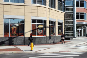 Peet's Coffee's future location in Clarendon, at the corner of N. Highland Street and Washington Blvd