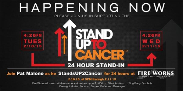 Stand Up 2 Cancer Banner