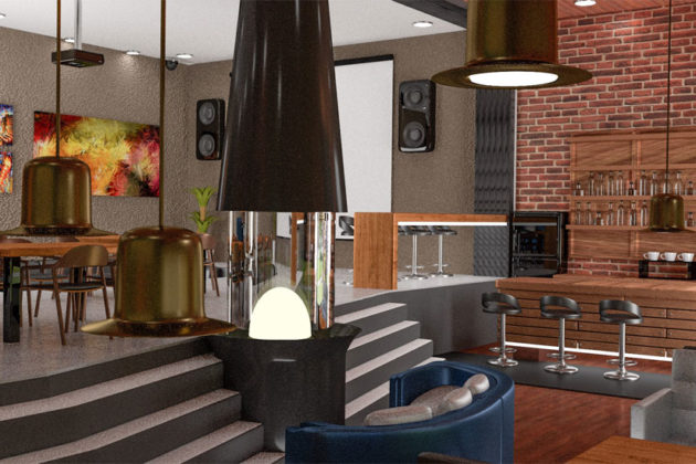 A rendering of the possible interior of The Third Place (photo via Facebook)