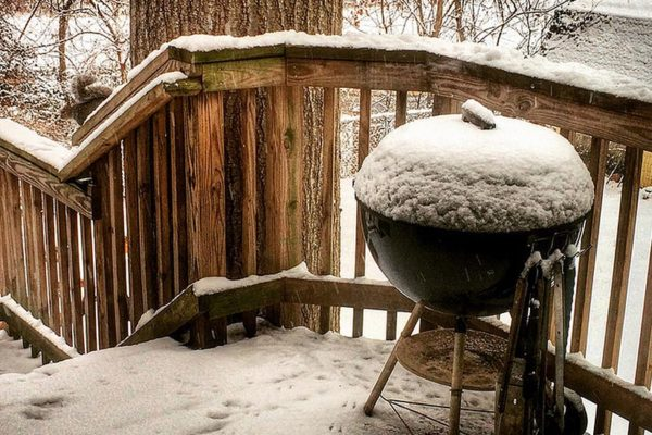 """Grilling canceled today"" (Flickr pool photo by Dennis Dimick)"