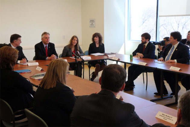 Beyer, McAuliffe and Health and Human Services Secretary Sylvia Burwell hear questions on Obamacare