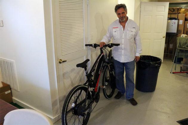 Hybrid Pedals owner Alan Levine