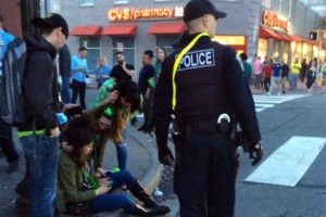 2015 Shamrock Crawl in Clarendon (photo courtesy ACPD)
