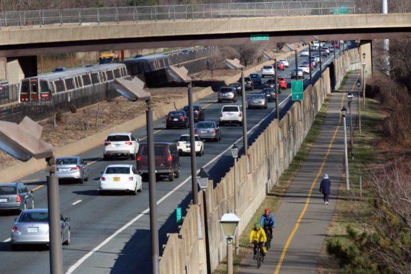 Multimodal transportation along I-66