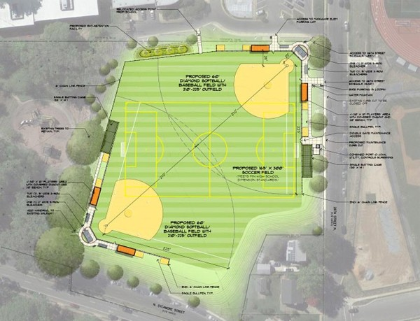 Tuckahoe Park field renovation plan