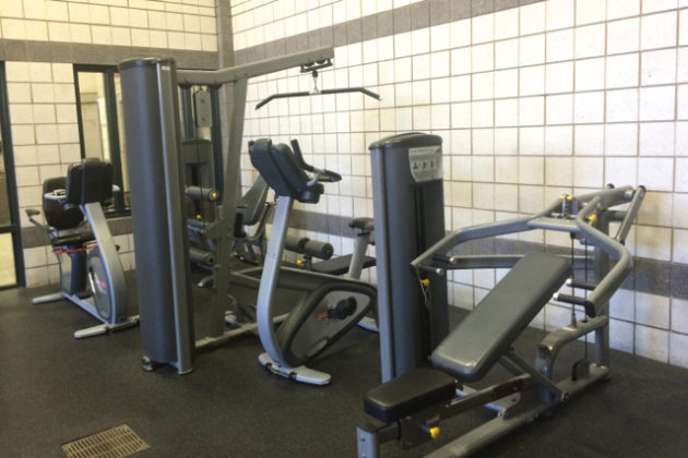 Available workout equipment