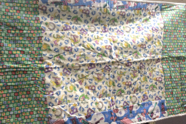 Quilt made by female inmate