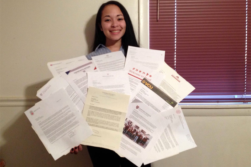 WL Student Goes For In Ivy League Acceptances  ArlnowCom