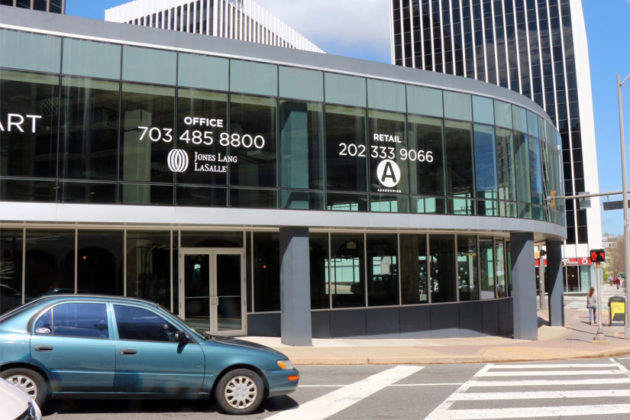 District Taco's future location in Rosslyn