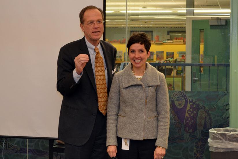 Oakridge Principal, Henry Teacher Earn APS' Top Awards