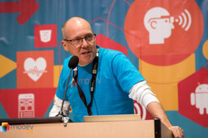 MoDev founder Pete Erickson (photo by Paco Alacid)