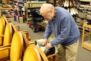 "S.H. ""Doc"" Friedman, owner of Public Shoe Store"