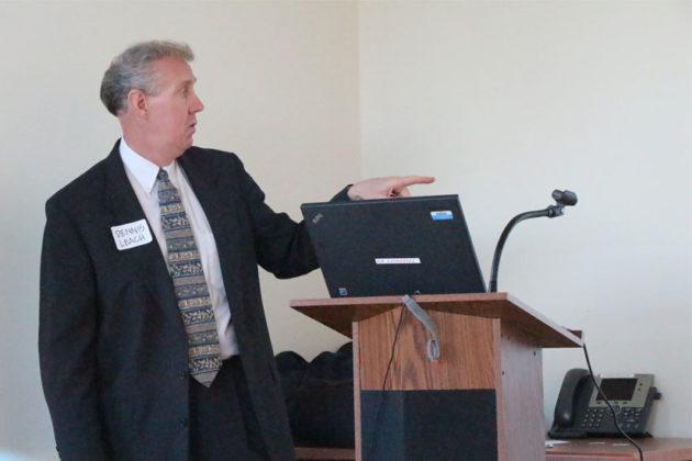Arlington Director of Transportation Dennis Leach