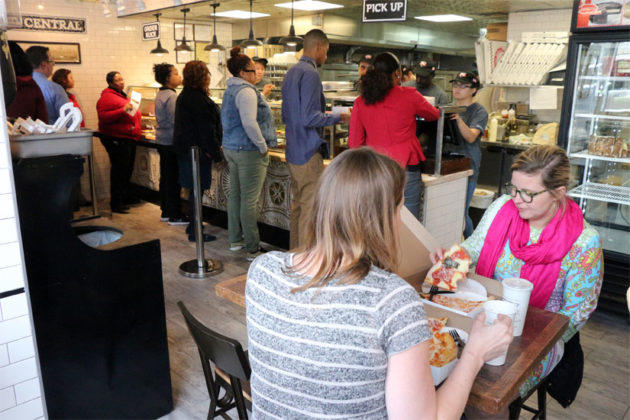 The new Wiseguy NY Pizza in Rosslyn