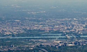 On approach to Reagan National Airport (Flickr pool photo by John Sonderman)