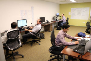 ByteCubed's offices in Clarendon's Carr Workplaces