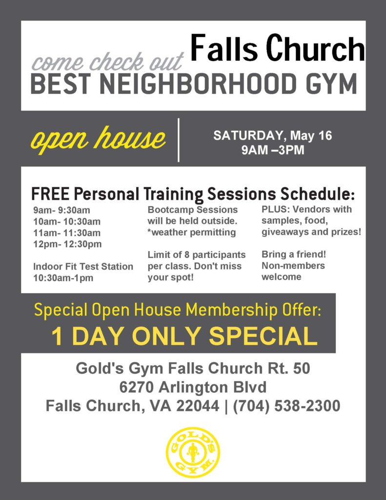 free open house flyers