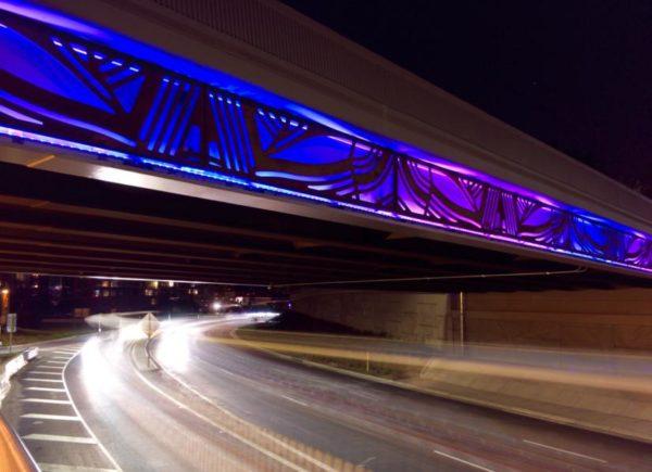 10th Street Bridge over Route 50 (Photo courtesy Peter Rof / Alt Globo MediaWorks LLC)