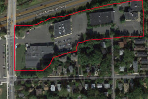 The N. Quincy Street property purchased by Arlington County