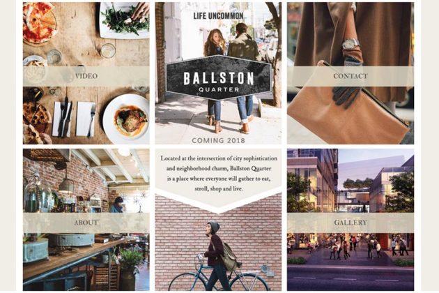 Ballston Quarter website