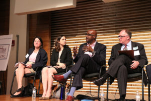 Arlington County Board candidates discuss how to make Arlington more attractive for business.