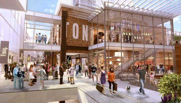 """Ballston Quarter"" mall rendering"