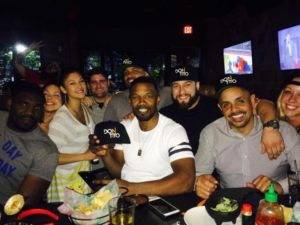 Jamie Foxx at Don Tito in Clarendon