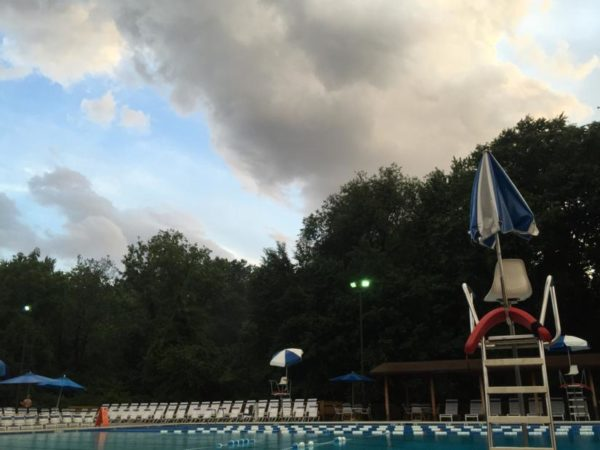 Storm clouds over the Arlington Forest Club (Flickr pool photo by Alves Family)