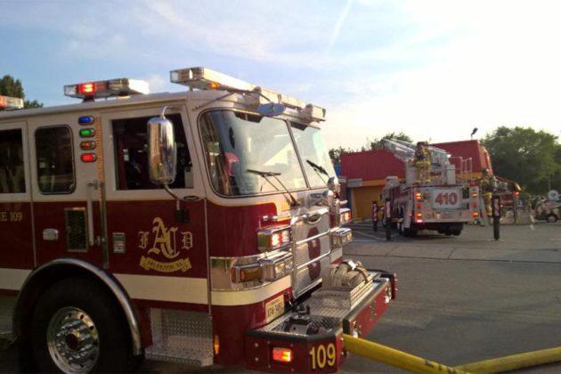 El Rancho fire (courtesy @jbester)