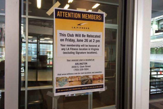 La Fitness To Close At Pentagon Row Arlnow Com