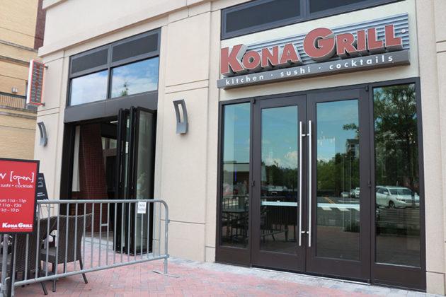 New Sushi Restaurant Kona Grill Opens On Wilson Boulevard