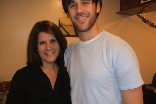 Ryan Diviney and his mother, Sue, prior to the attack that left him brain damaged.