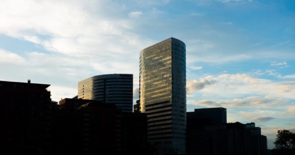Rosslyn on a summer evening (Flickr pool photo by John Sonderman)