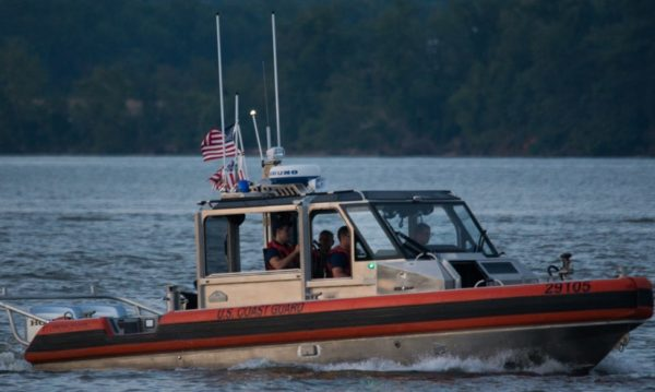 Coast Guard boat on the Potomac (Flickr pool photo by John Sonderman)