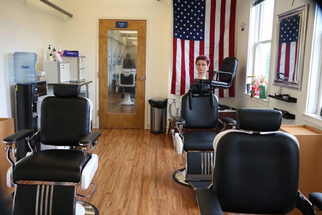American Barber Academy workspace