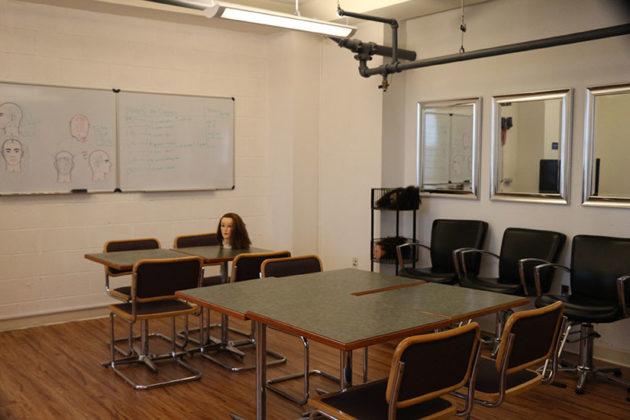 American Barber Academy classroom