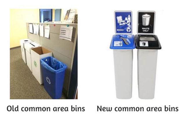 memo recycling changes coming to county offices facilities