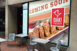 Dak Chicken in Shirlington